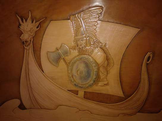 Vichingo realizzato da Sara Macor