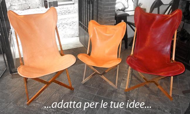 """<br>Sedie mod.""""Tripolina""""<br>Pelle Utilizzata: art. Bottalato / art. Holiday<br><br>&nbsp Realizzate da:<br>Dario Alfonsi - Via dei Chiavari, Roma"""